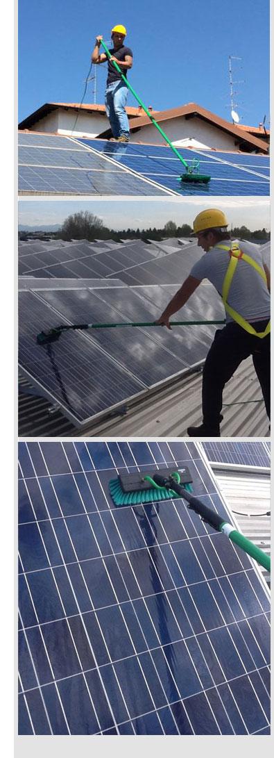Piulizia impianti solari